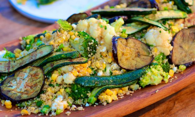 Vegetable & Quinoa Salad