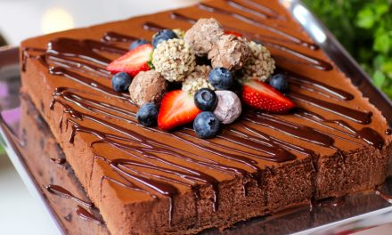 Chocolate Mousse & Brownie Cake