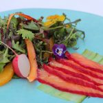 Beetroot-Cured Salmon Salad
