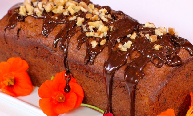 Banana, Hazelnut & Chocolate Bread