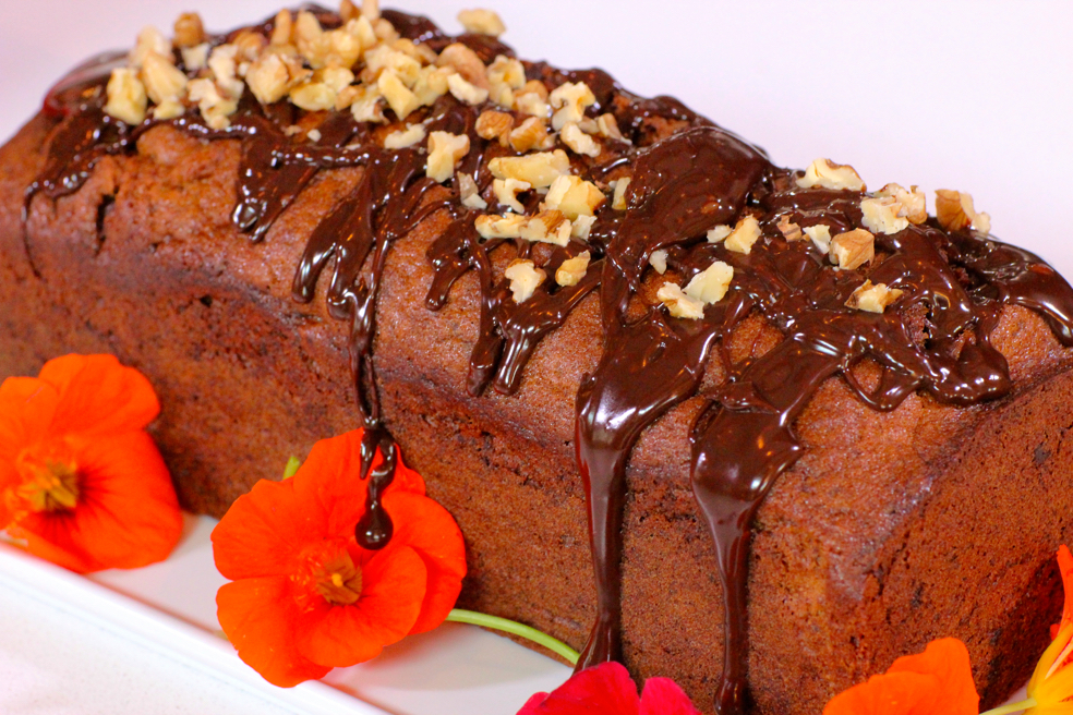 Banana Hazelnut Chocolate Bread