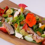 Strawberry & Grilled Chicken Salad