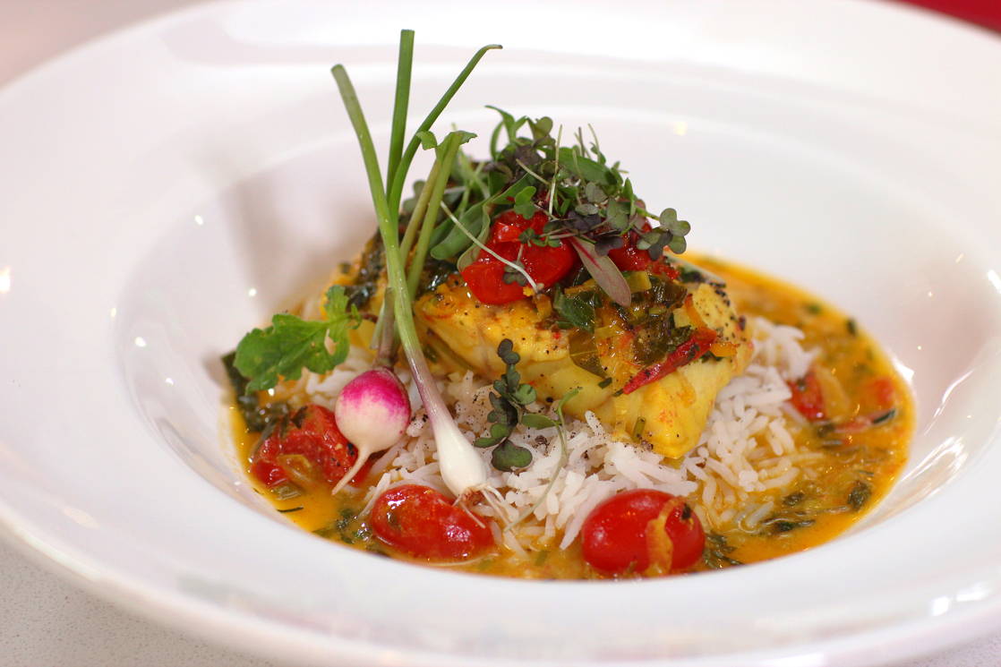 Saffron & Tomato Butter Baked Fish