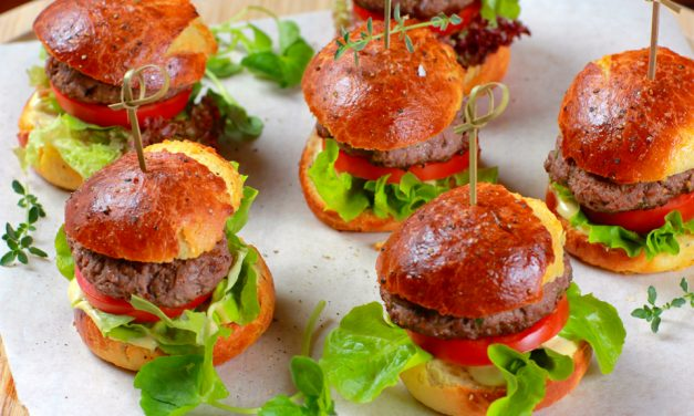Hara Masala Lamb Sliders