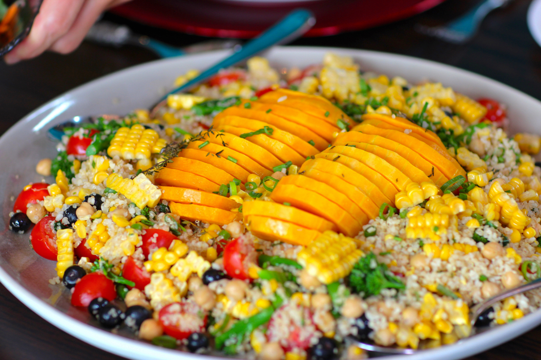 Roasted Butternut Quinoa Salad