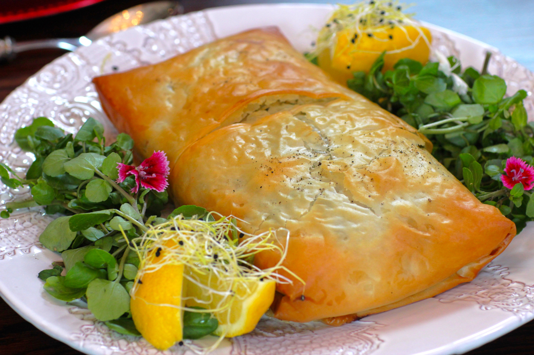 Salmon Baked in Phyllo Pastry